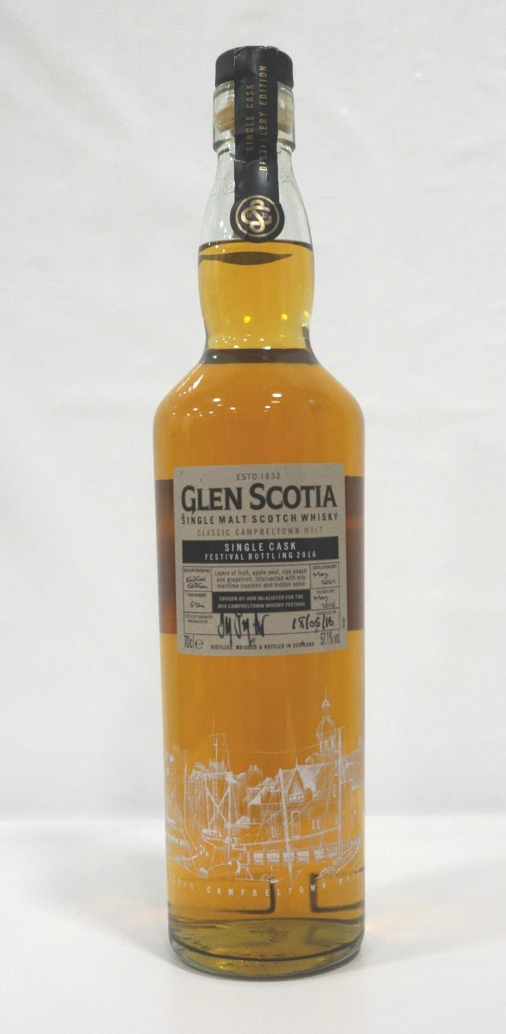 GLEN SCOTIA FESTIVAL BOTTLING 2016 A fine single cask bottling from the resurgent Glen Scotia