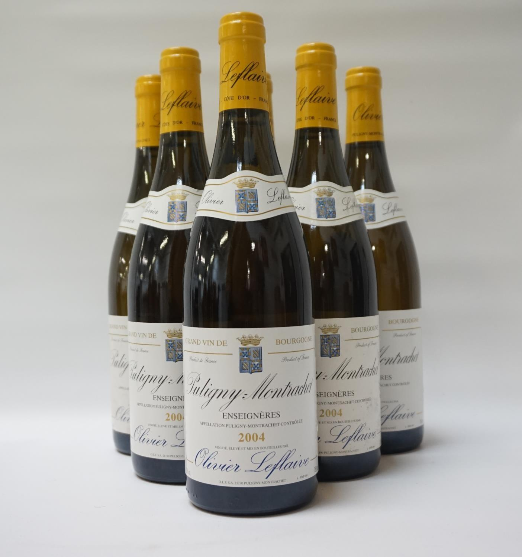 "OLIVIER LEFLAIVE PULIGNY-MONTRACHET ""ENSEIGNERES"" 2004 A Grand Vin de Bourgogne this is a"