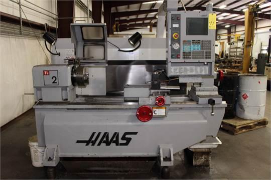 CNC TOOLROOM LATHE, HAAS MDL. TL-2, new 8/2006, Haas CNC ...