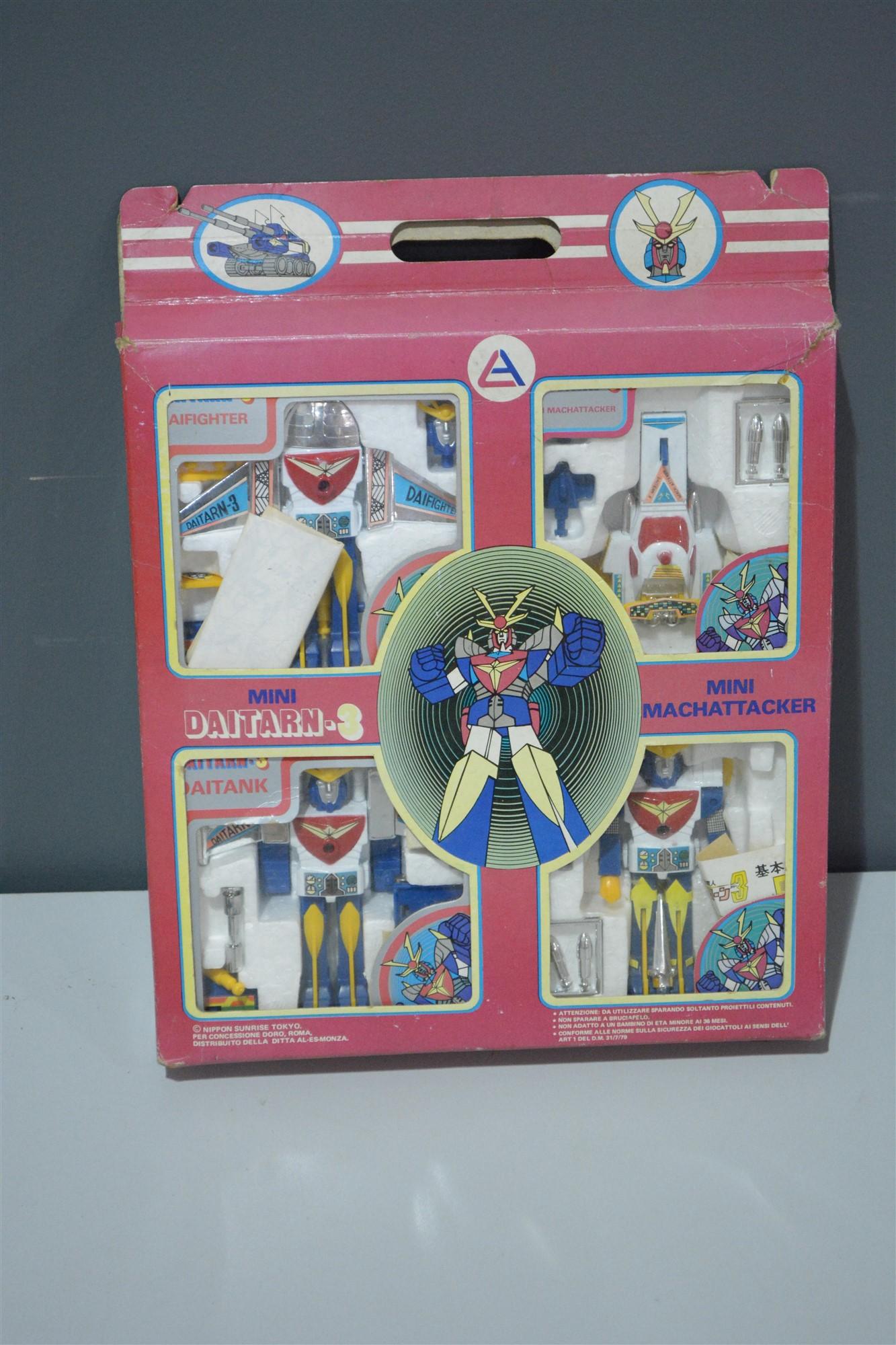 Lot 1006 - Daitarn-3 mini set
