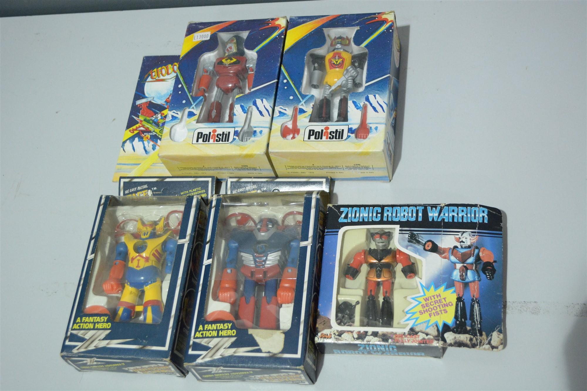 Lot 1007 - Small Robot figures