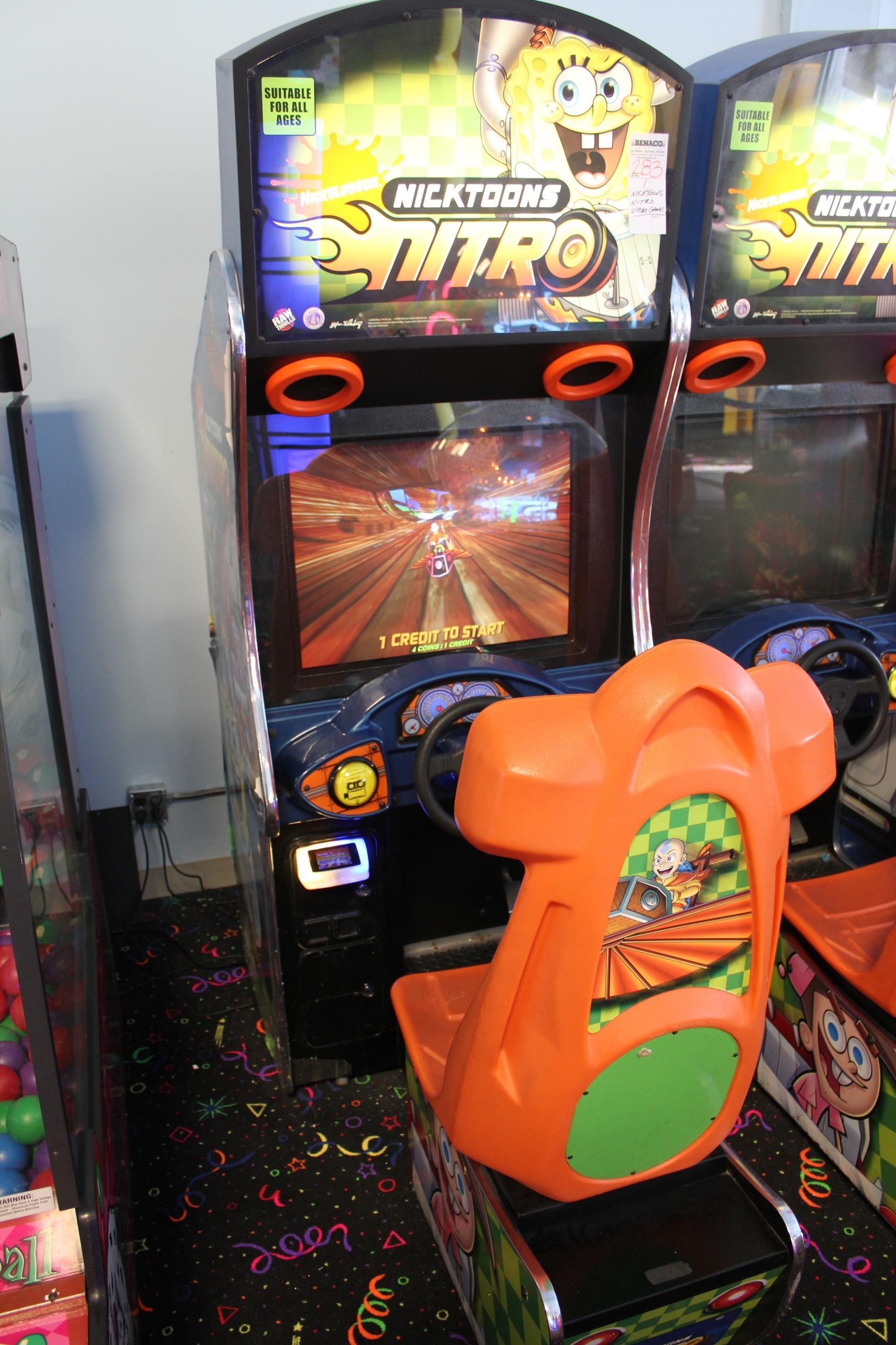 Lot 282 - 1X, NICKTOONS NITRO VIDEO GAME