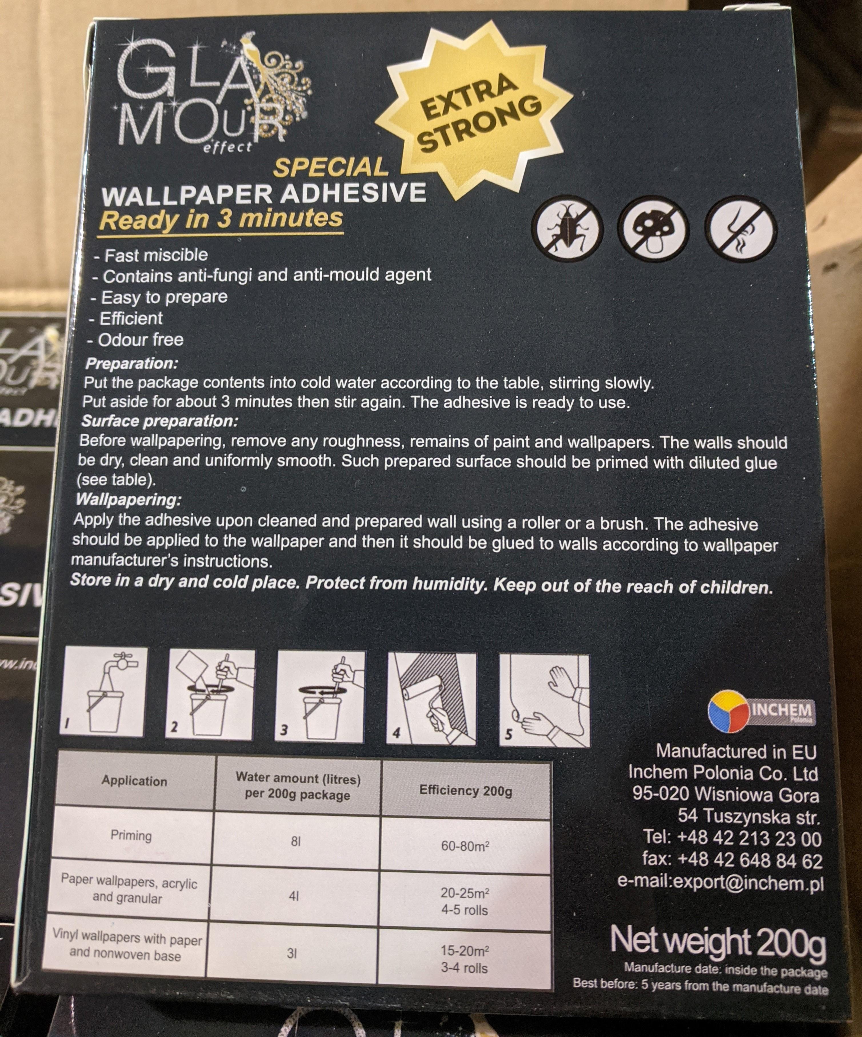 1200 x Wallpaper Adhesive | RRP £3,600 - Image 3 of 4