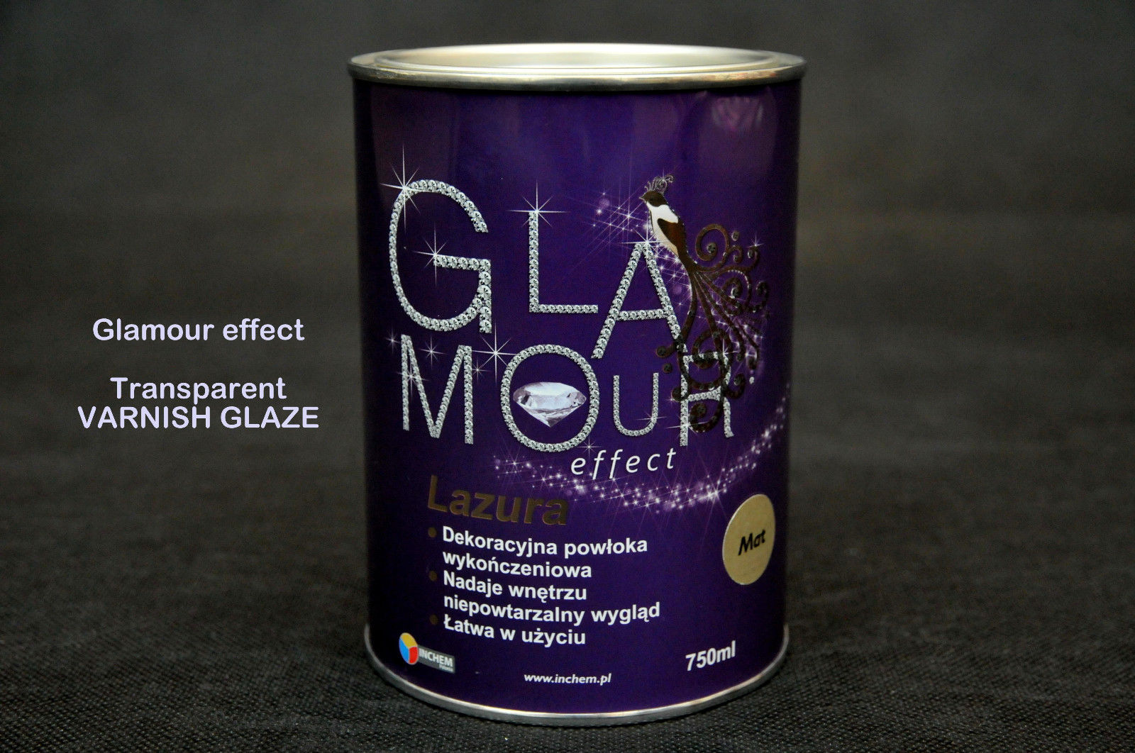 432 x Tins Glamour Effect Varnish Gloss Finish | RRP £7,750