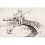 ‡ Eileen Alice Soper R.M.S. (1905-1990) Tiddlers, 1921 Signed Etching, edition 190 10 x 15cm; 3¾ x