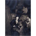 ‡ Dame Laura Knight R.A., R.W.S. (1877-1970) A fair Signed Aquatint, artist's proof published