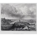 David Lucas (1802-1881) After John Constable R.A. Hampstead Heath Mezzotint 14 x 18cm; 5½ x 7¼in