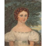 λ Maggie Scott (c. 1829) Portrait miniature of Mary Margaret Hamilton later Mrs George Middleton