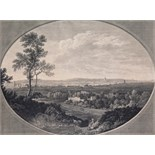 Daniel Lerpinière (c.1745-1785) after George Robertson A South view of the Cities of London and