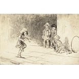 ‡ Eileen Alice Soper R.M.S. (1905-1990) Hop-scotch, 1923 Signed Etching, edition 335, mounted,