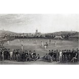 After William Drummond and Charles Jones Basebe The Cricket Match between Sussex and Kent, at