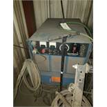MILLER DELTAWELD 450 ON ROLLER CART WITH MILLERMATIC S-32S WIRE FEED ON ROLLER CART SN JC632413,