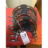 LOT: (7) Assorted Mitutoyo Micrometers