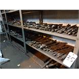 LOT: Assorted Large Drills on (6) Shelves