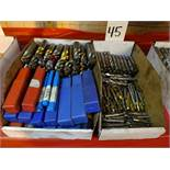 LOT: Assorted Milling Cutters in (2) Boxes