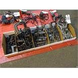 LOT: Assorted Clamps in (5) Boxes