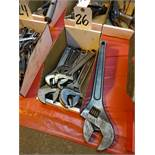 LOT: Assorted Crescent Wrenches