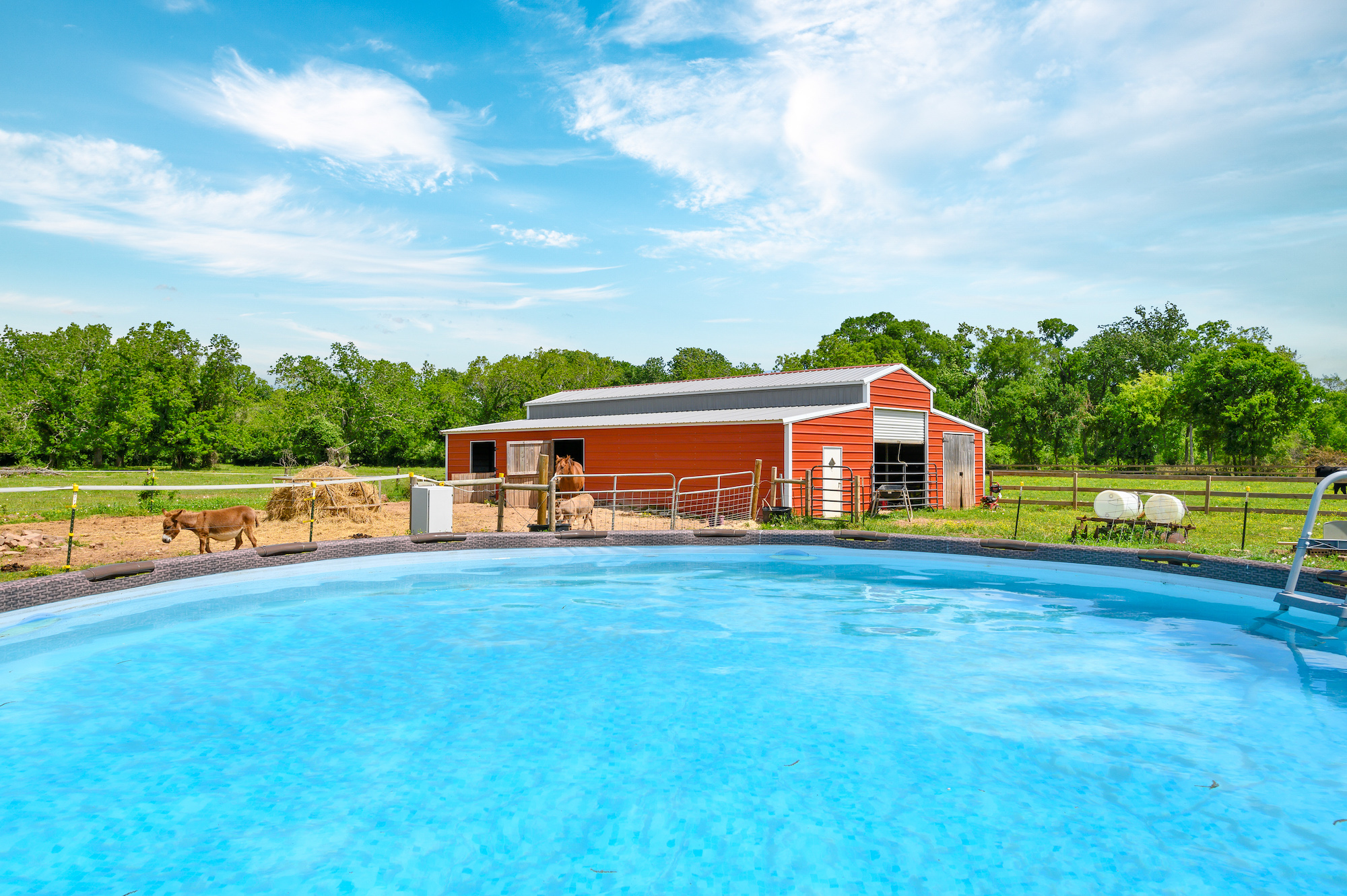 Custom Country Home with Acreage in Sealy - Image 44 of 46