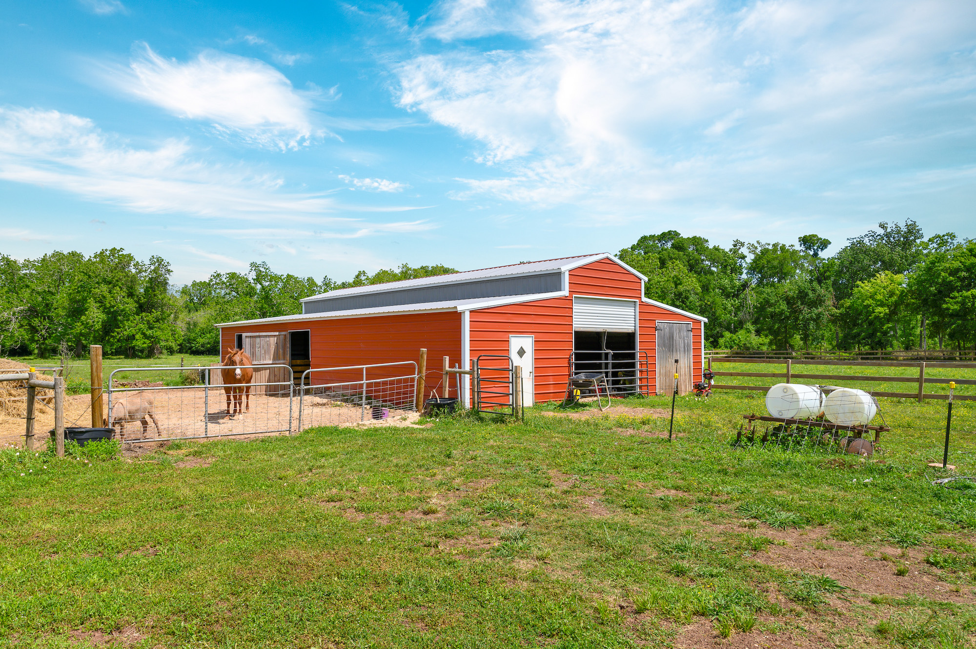 Custom Country Home with Acreage in Sealy - Image 45 of 46