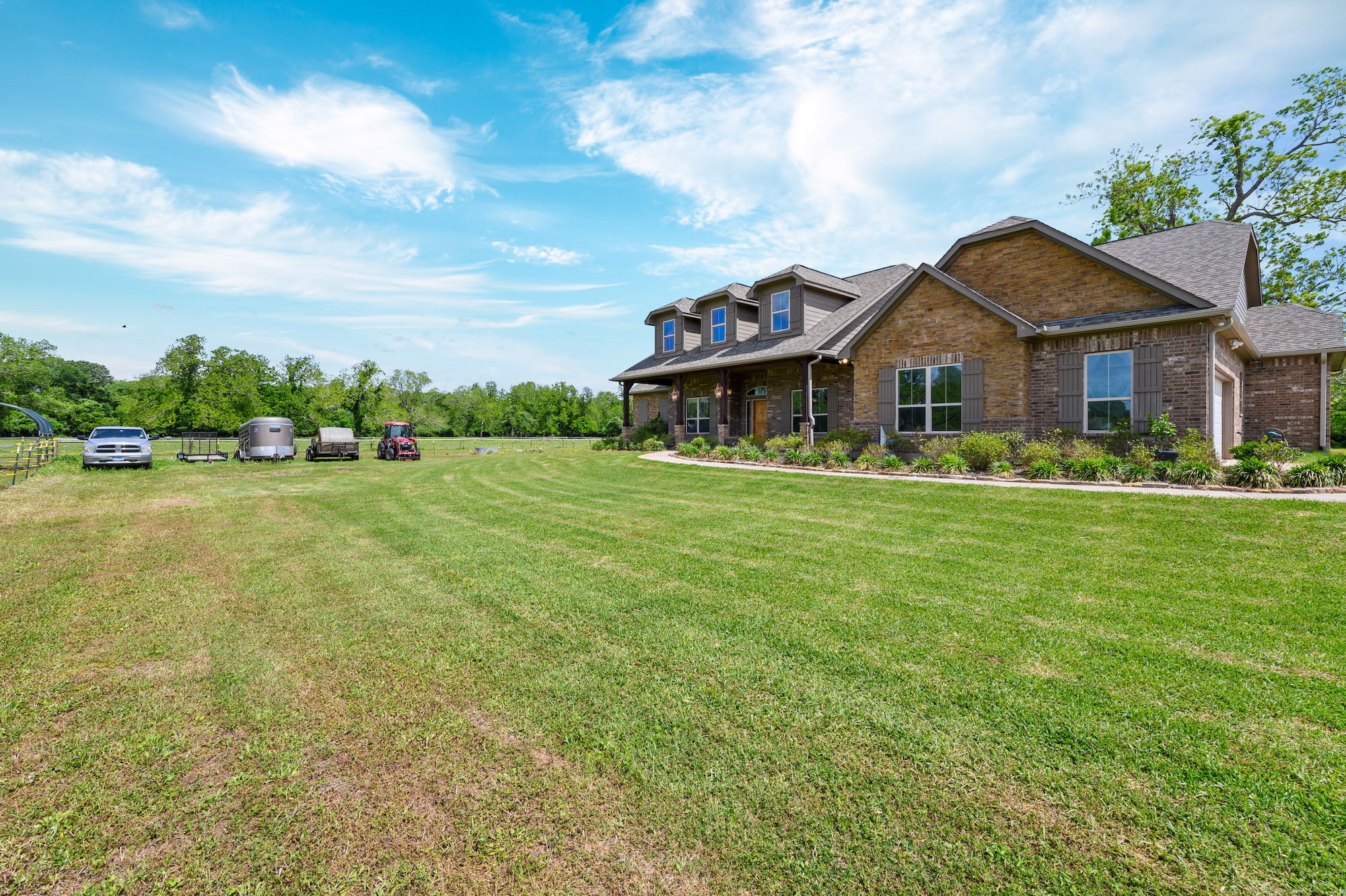 Custom Country Home with Acreage in Sealy - Image 40 of 46