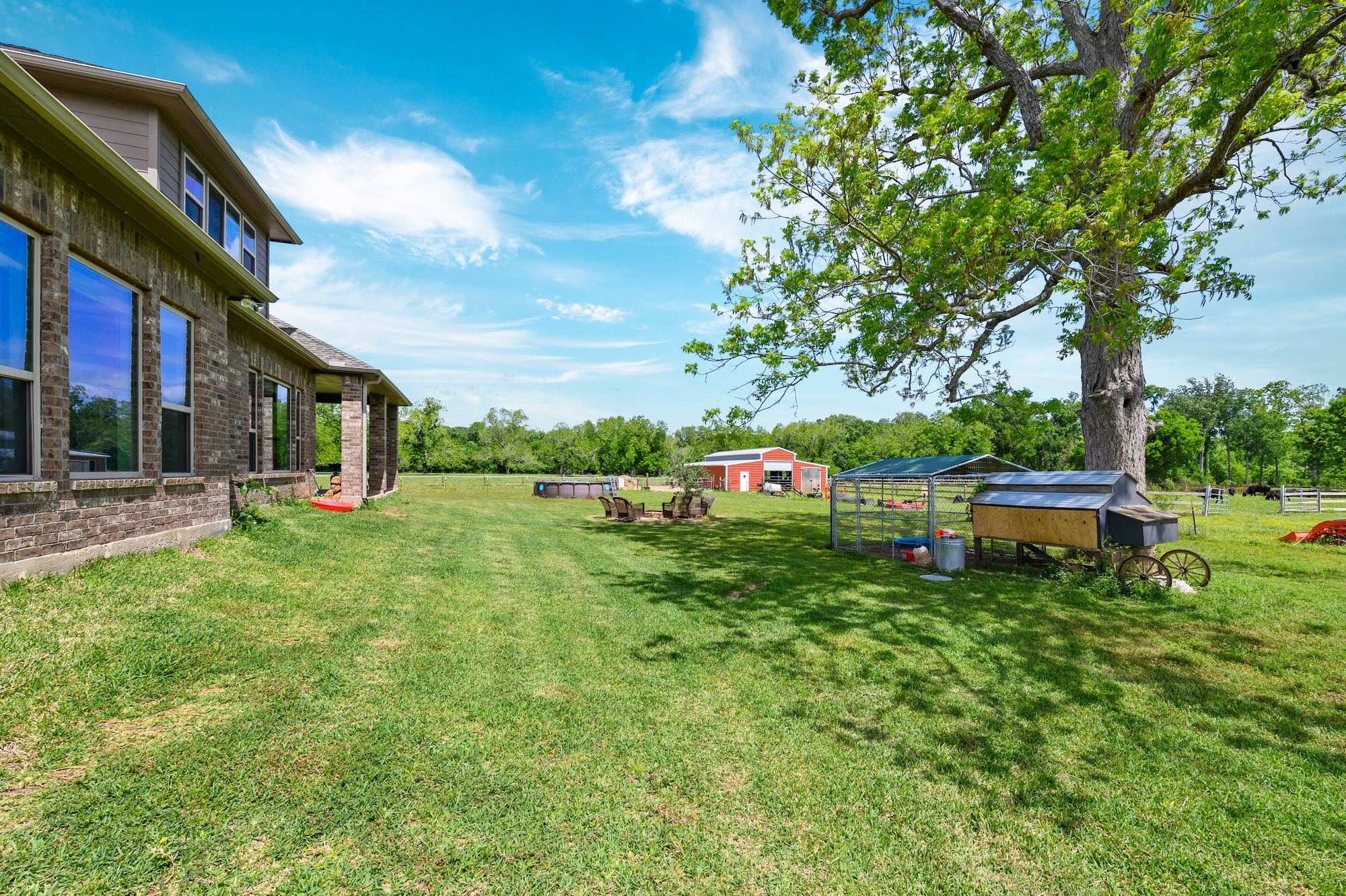 Custom Country Home with Acreage in Sealy - Image 41 of 46