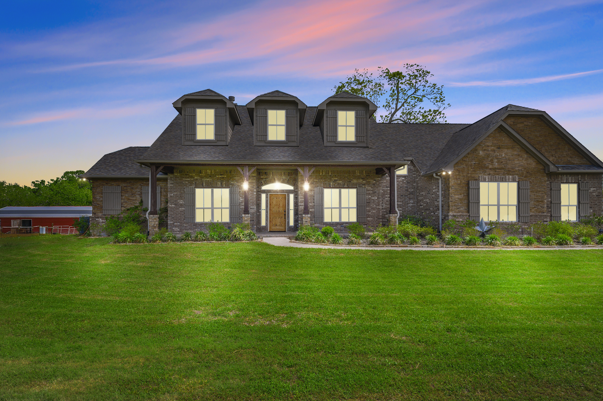 Custom Country Home with Acreage in Sealy