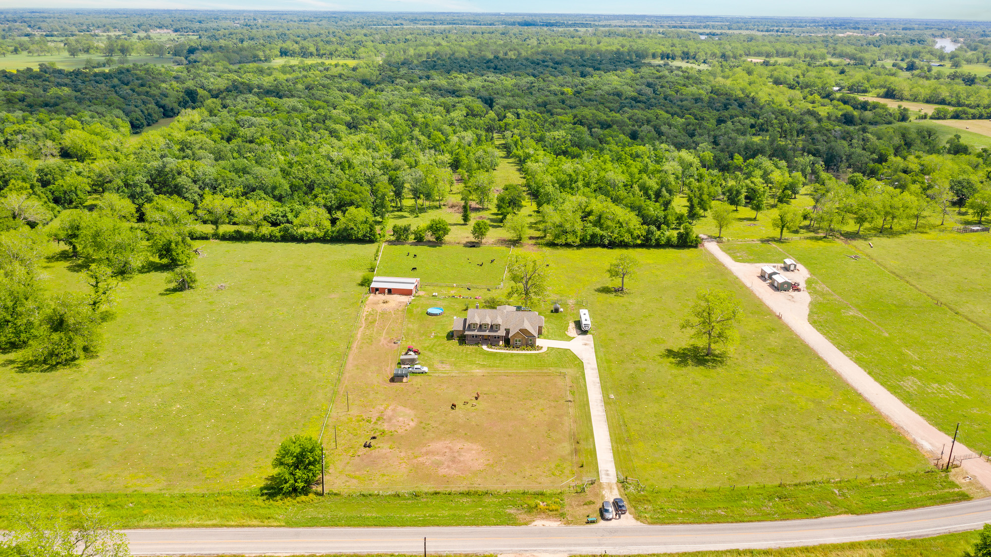 Custom Country Home with Acreage in Sealy - Image 5 of 46
