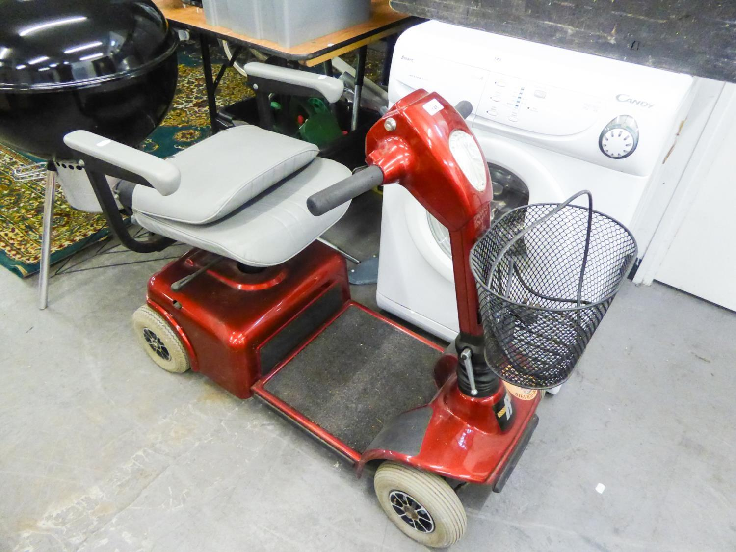 Lot 146 - A MOBILITY BUGGY WITH BATTERY ELECTRIC MOTOR (WORKING CONDITION NOT KNOWN)