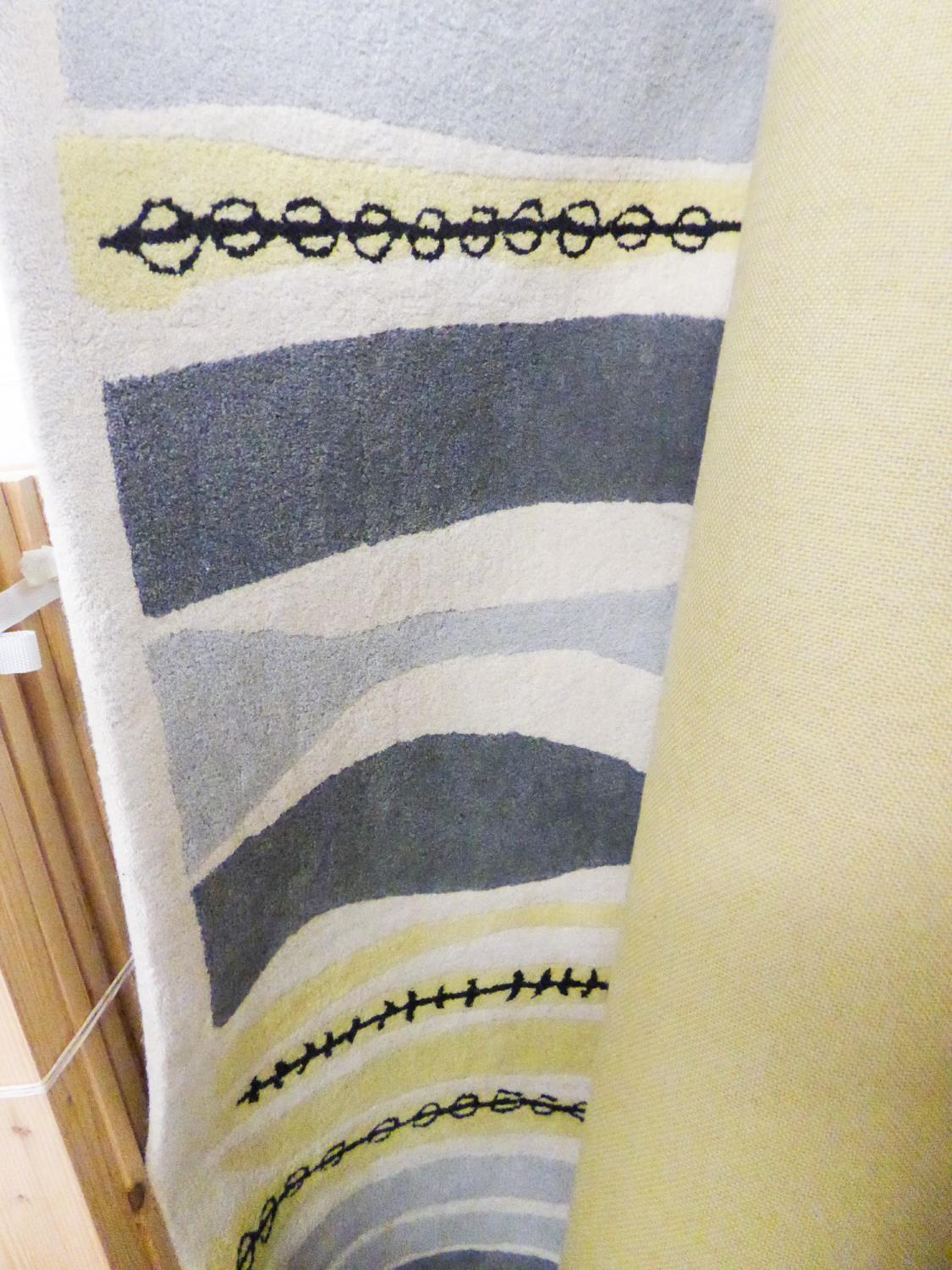 LARGE ABSTRACT DESIGN RUG, 240CM X 170CM BY JOHN LEWIS