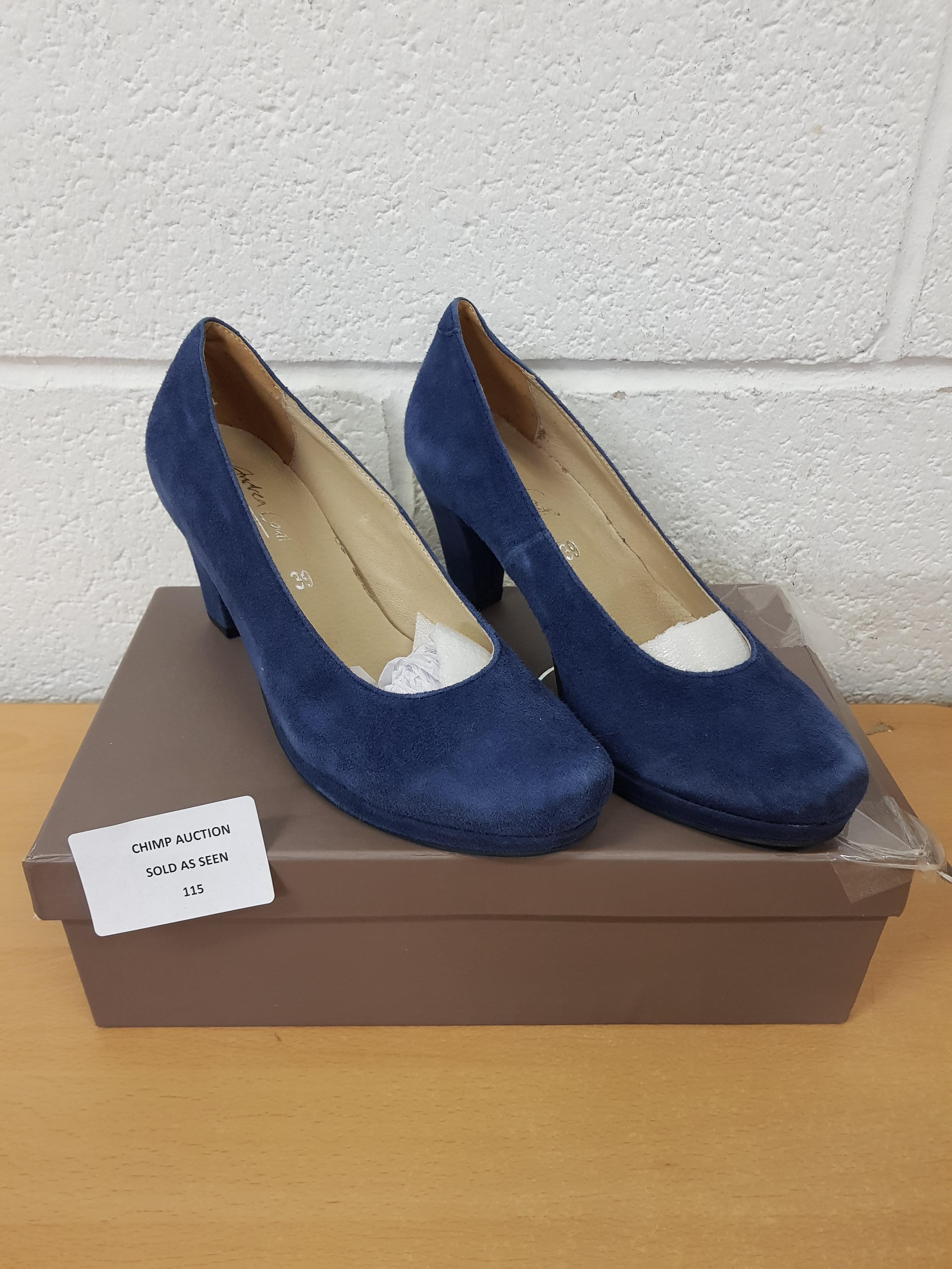 Lot 115 - Andrea Conti ladies shoes EU 39