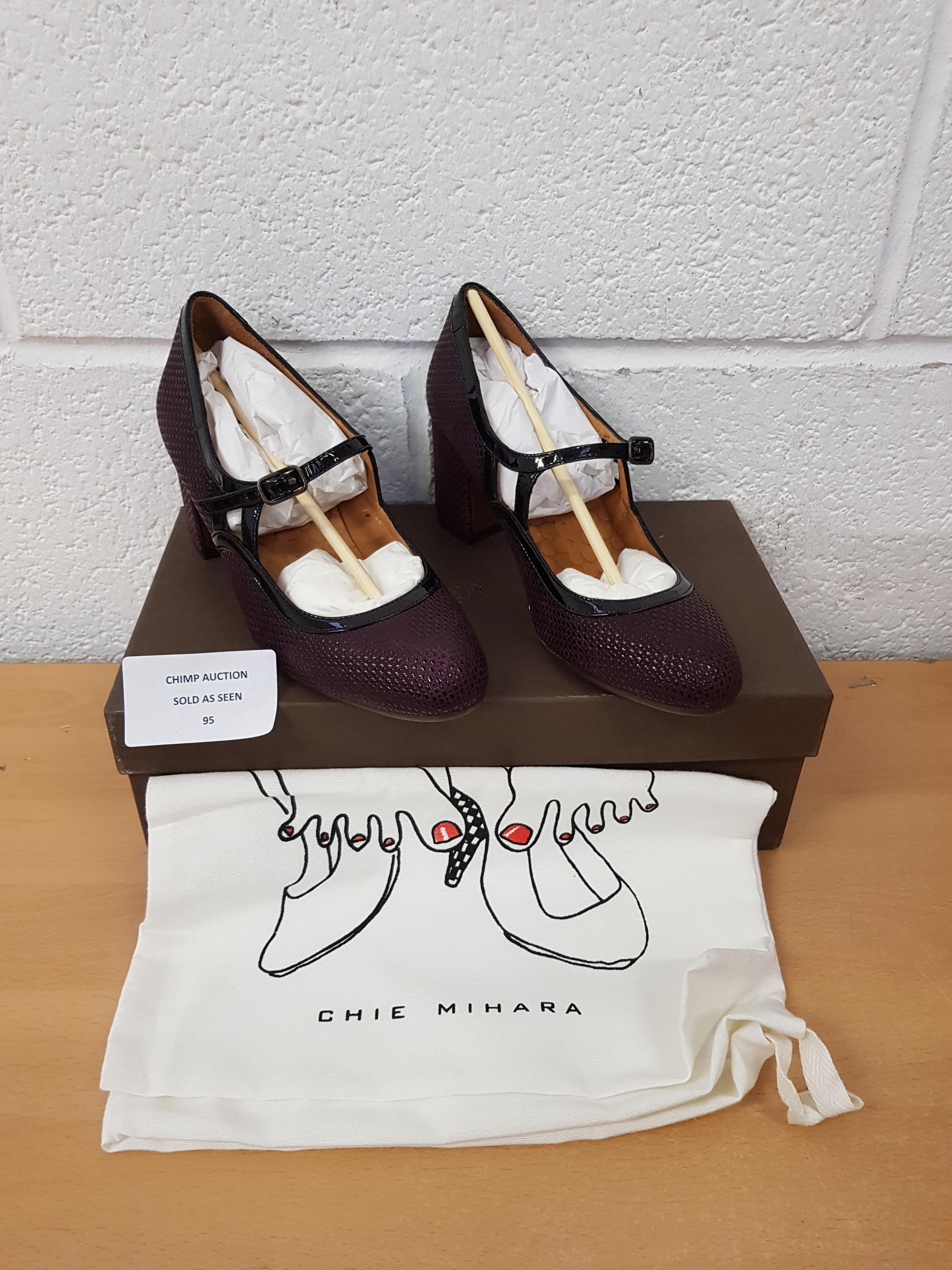 Lot 95 - Chie Mihara ladies premium shoes EU 35