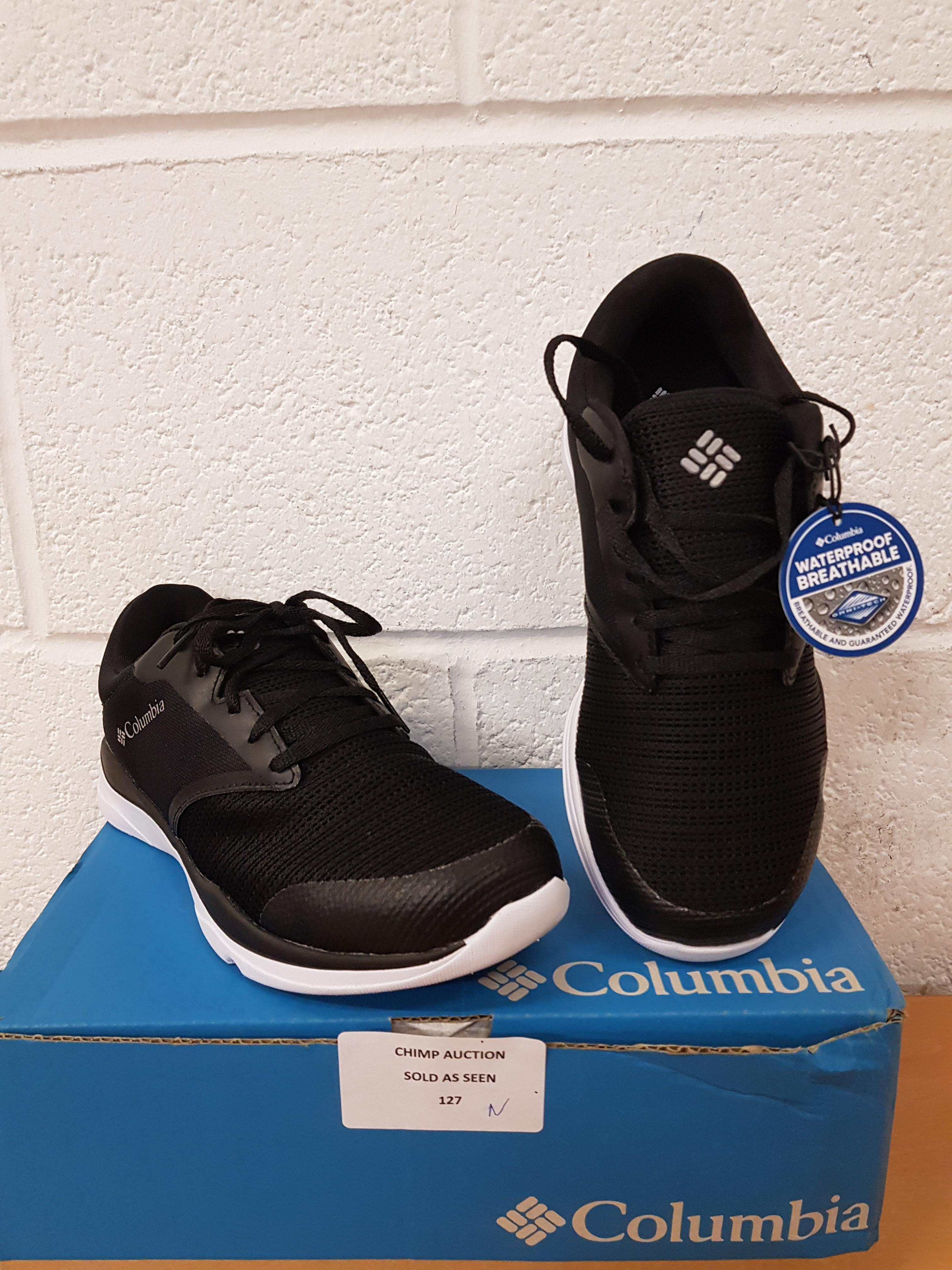 Lot 127 - Brand new Columbia ladies trainers UK 5