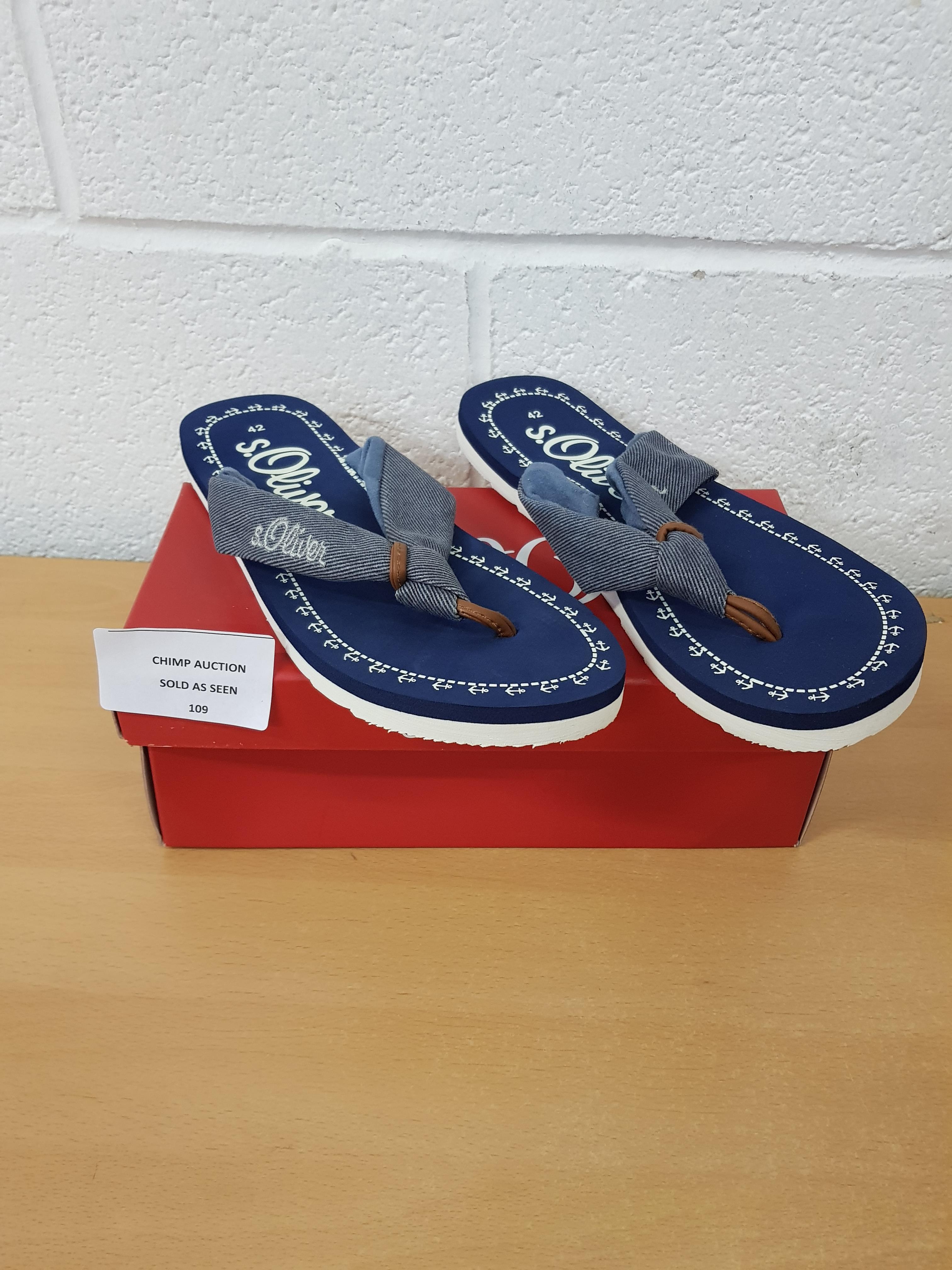 Lot 109 - S. Oliver sandals EU 42