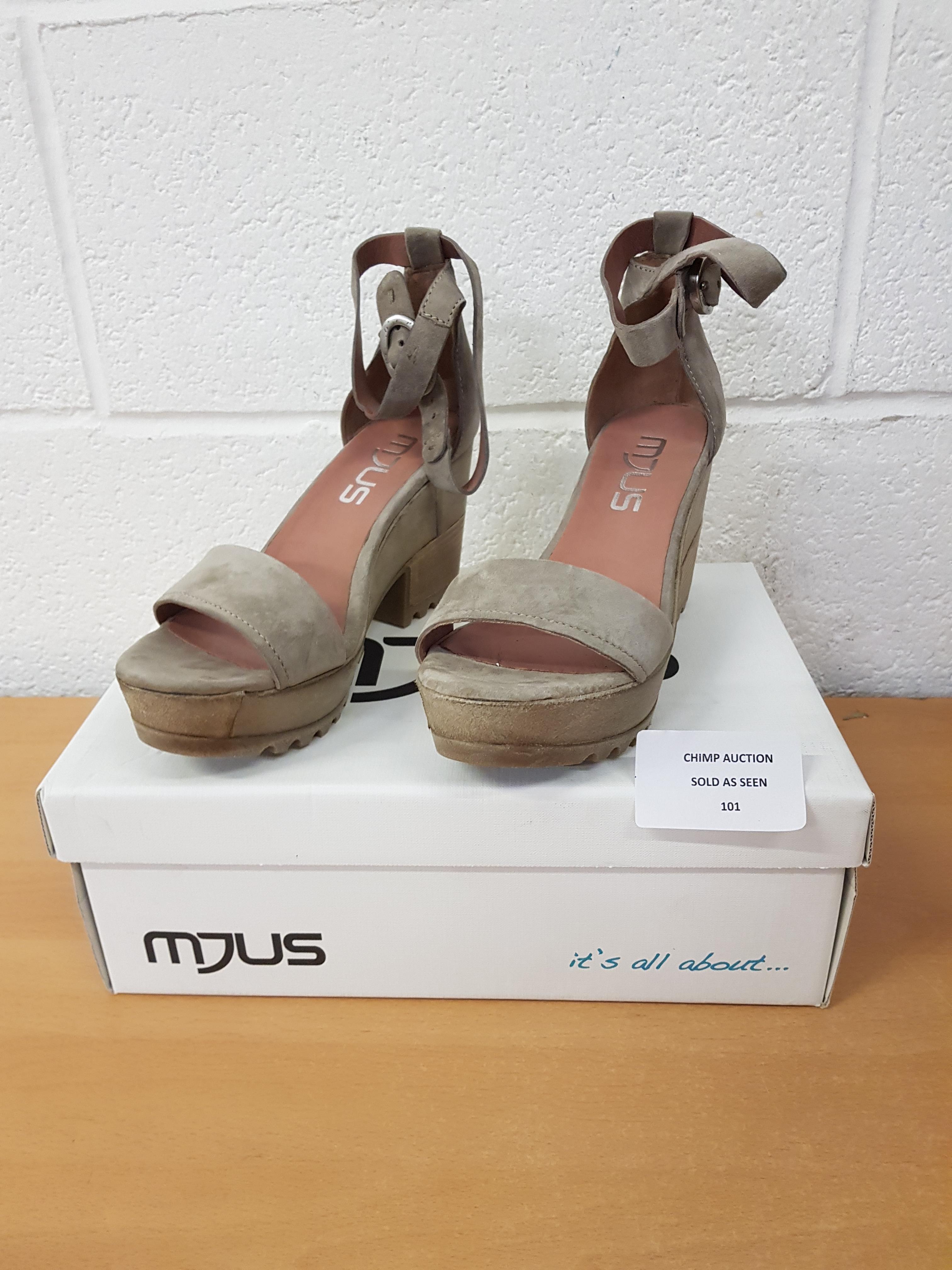 Lot 101 - Mjus ladies sandals EU 40