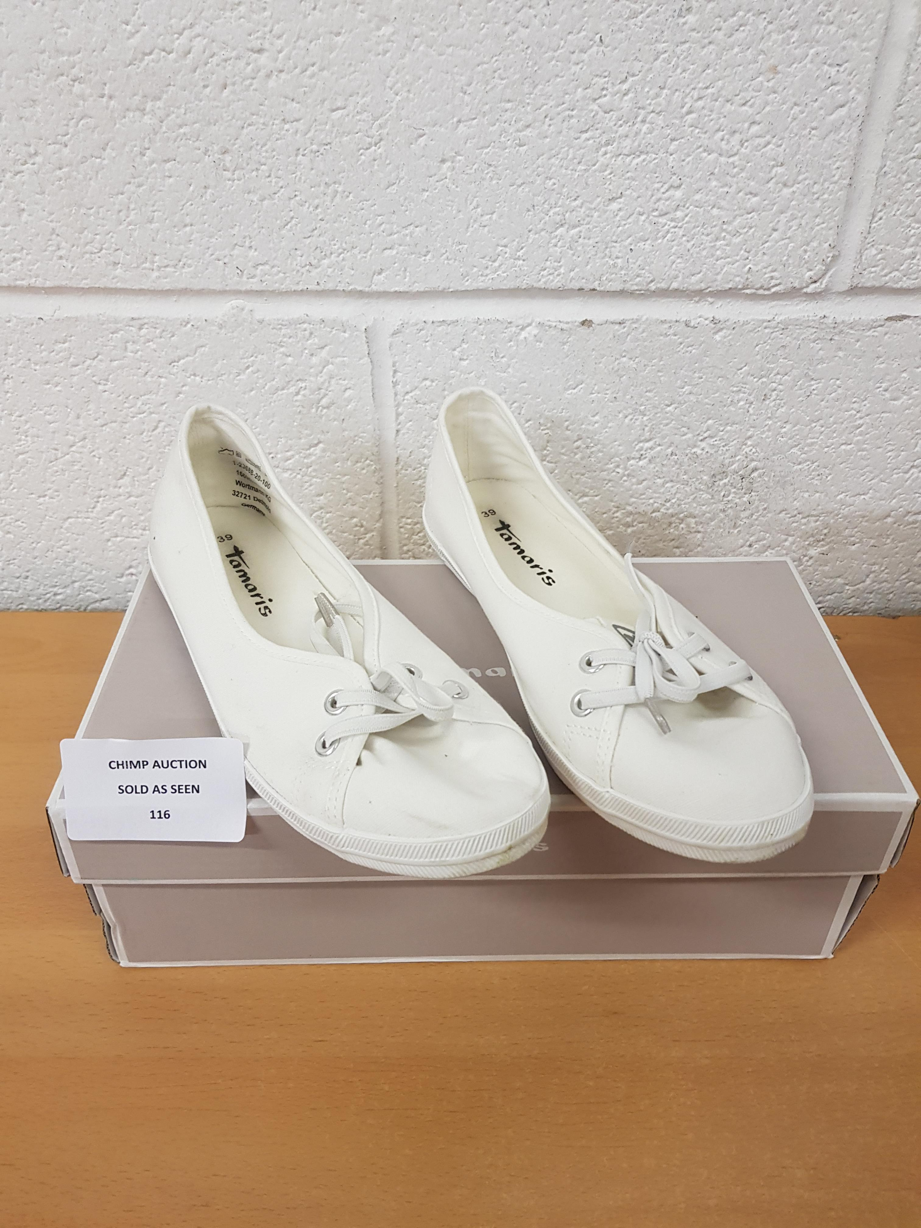 Lot 116 - Tamaris ladies shoes EU 39