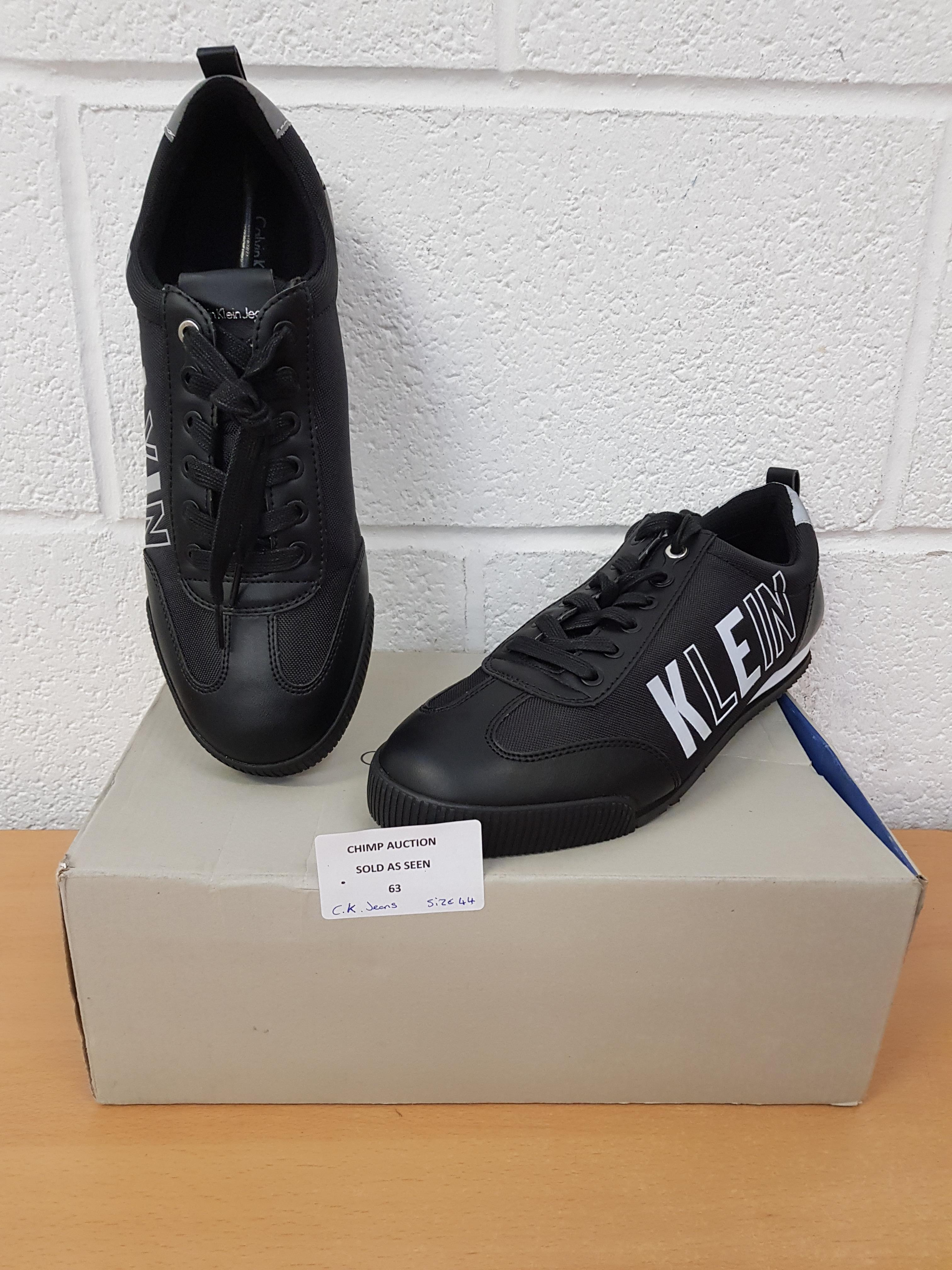 Lot 63 - Brand new Calvin Klein men's trainers EU 44 RRP £129.99
