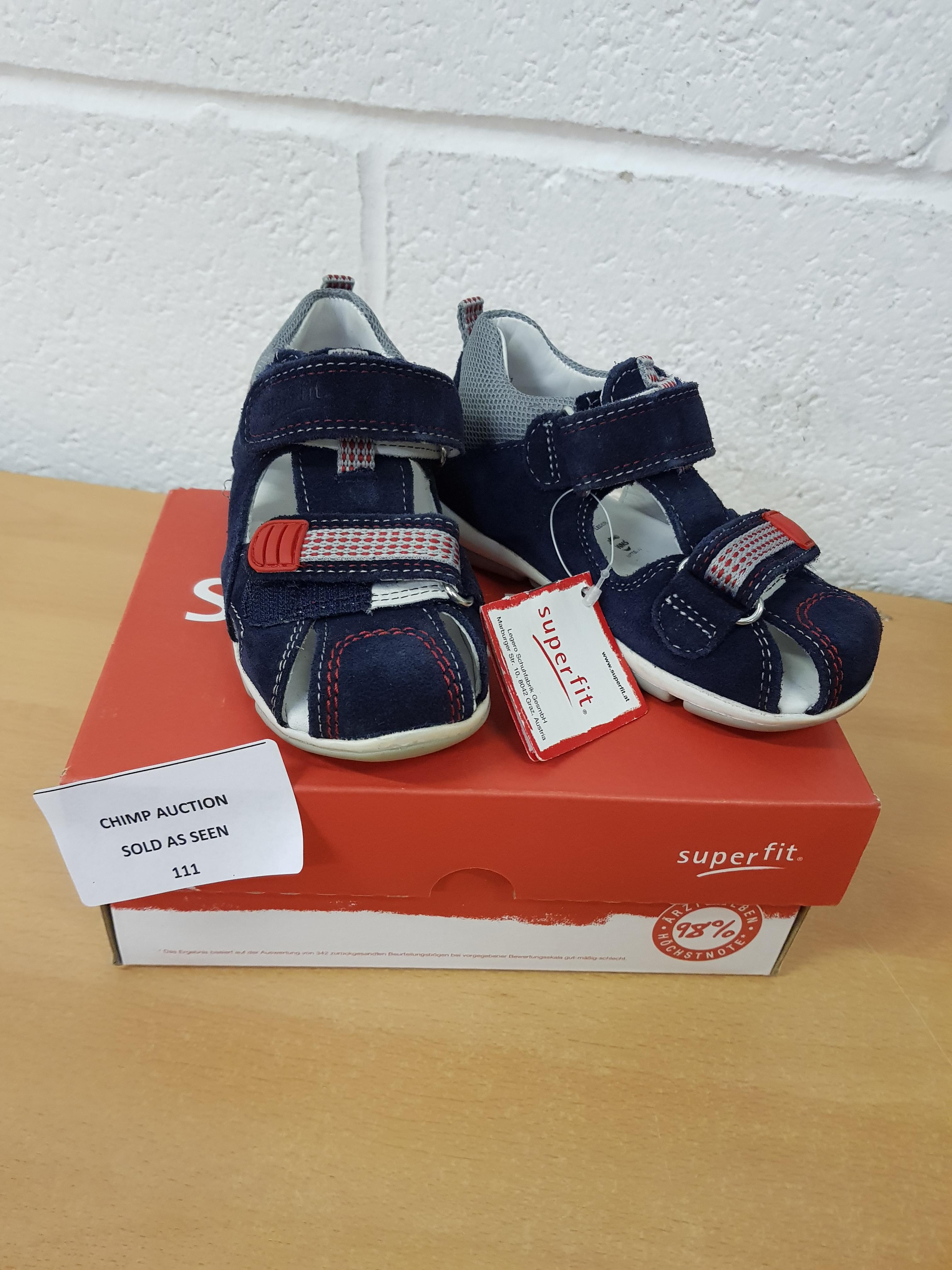 Lot 111 - SuperFit kids shoes EU 24