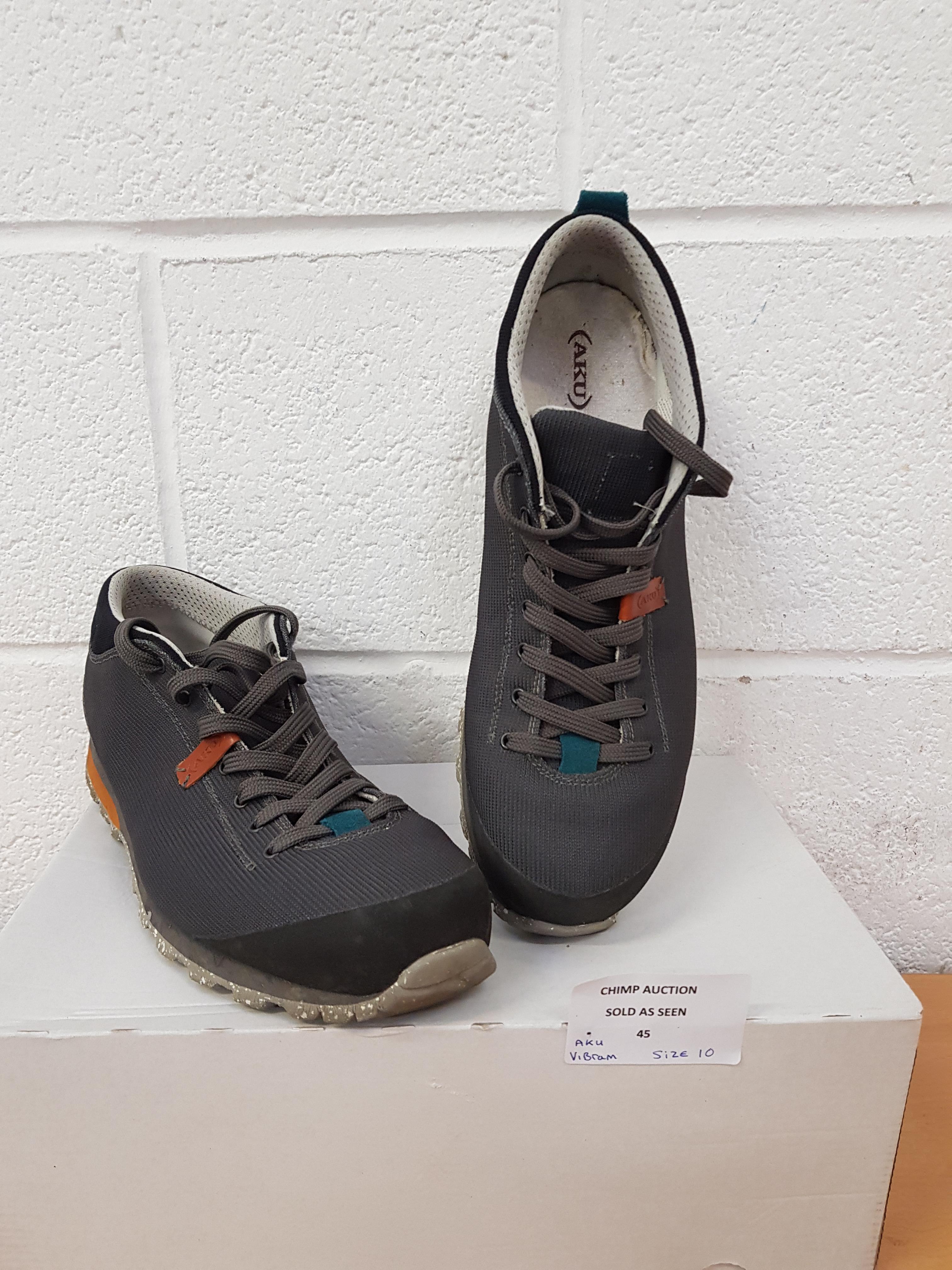 Lot 45 - Aku Vibram men;s shoes UK 10