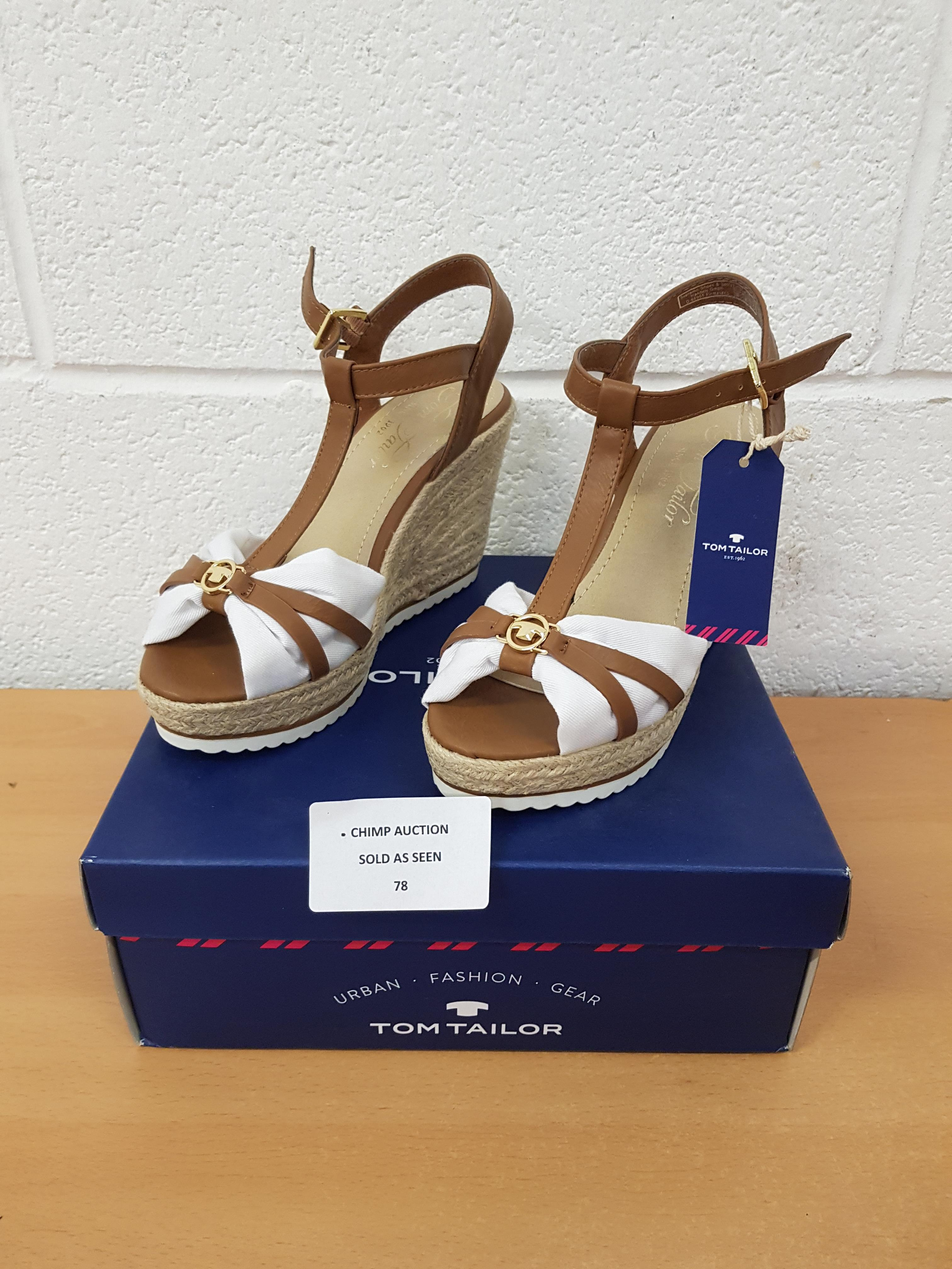 Lot 78 - Tom Tailor ladies shoes EU 38