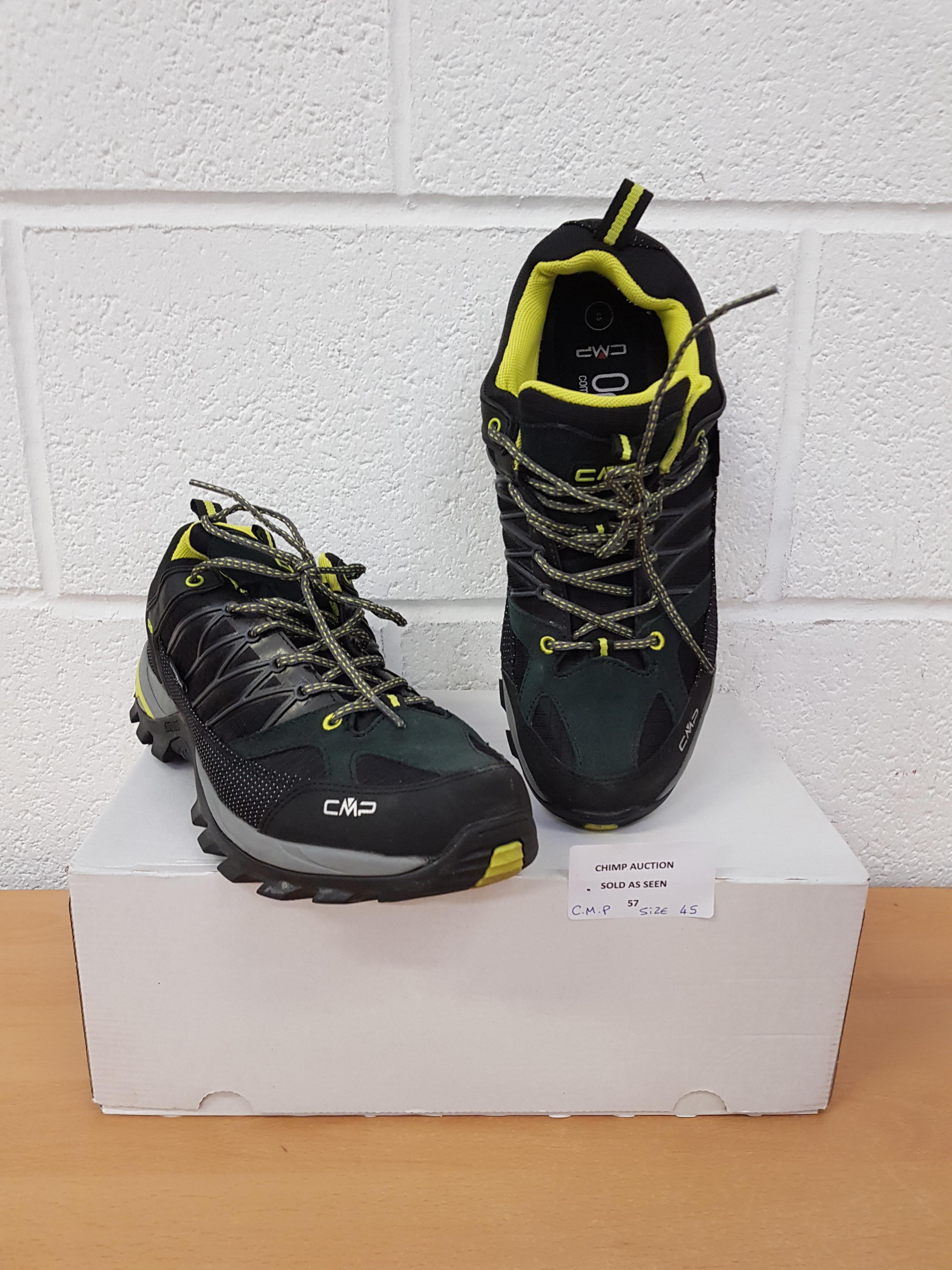 Lot 57 - CMP Outdoor GTX Trek men's shoes EU 45 RRP £139.99