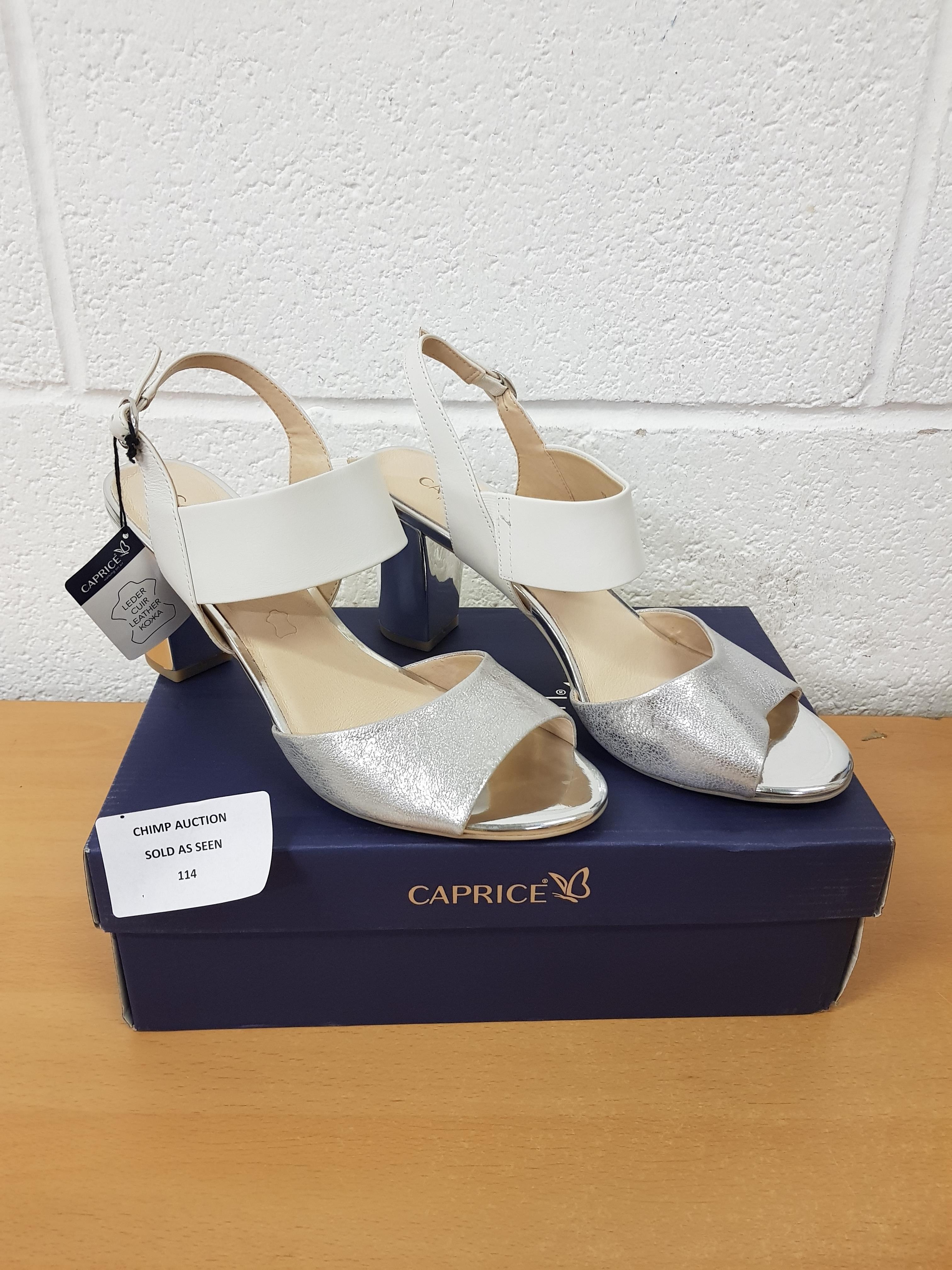 Lot 114 - Caprice ladies premium shoes UK 7.5