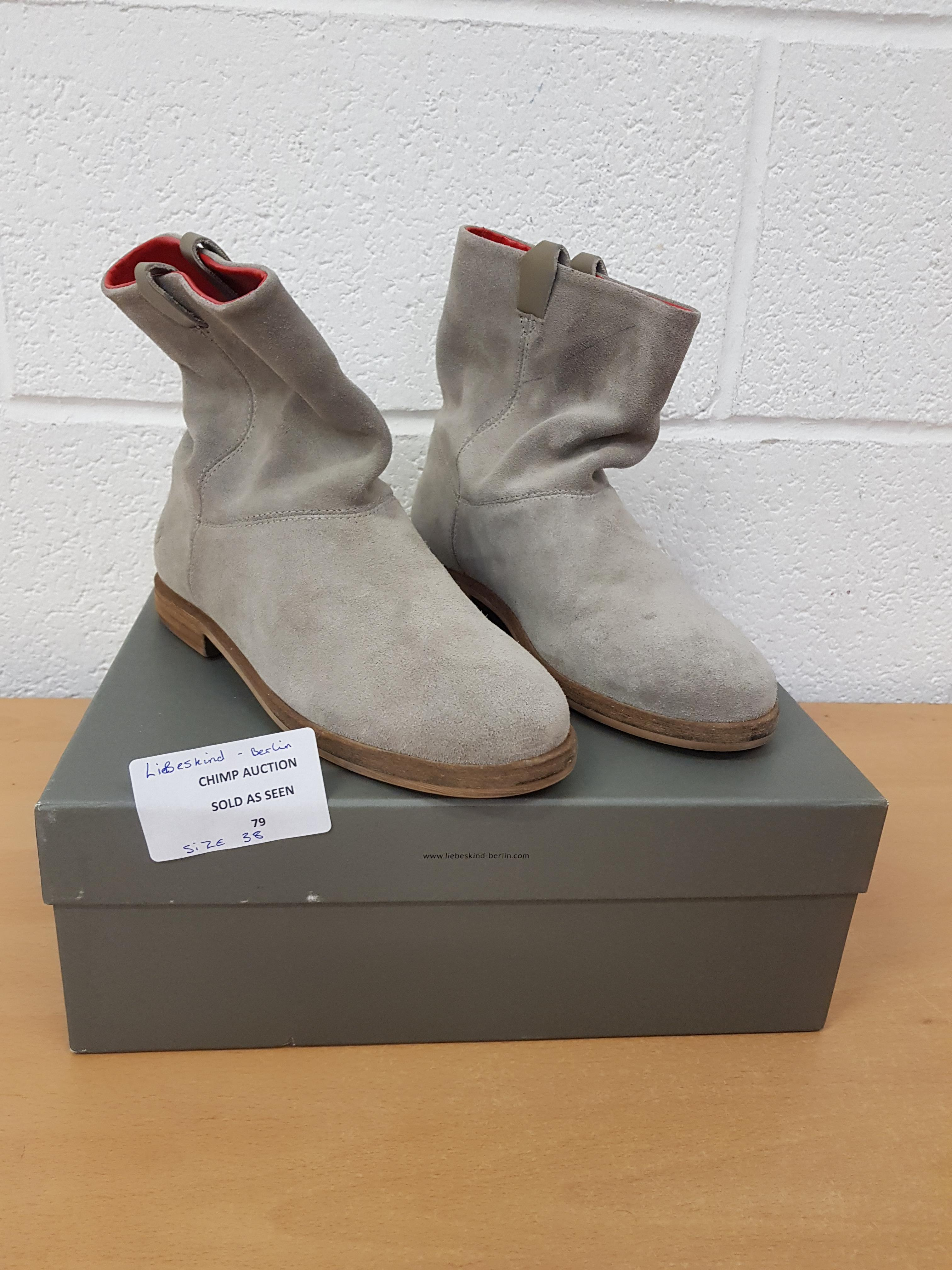 Lot 79 - Liebeskind Berlin ladies shoes EU 38 RRP £119.99