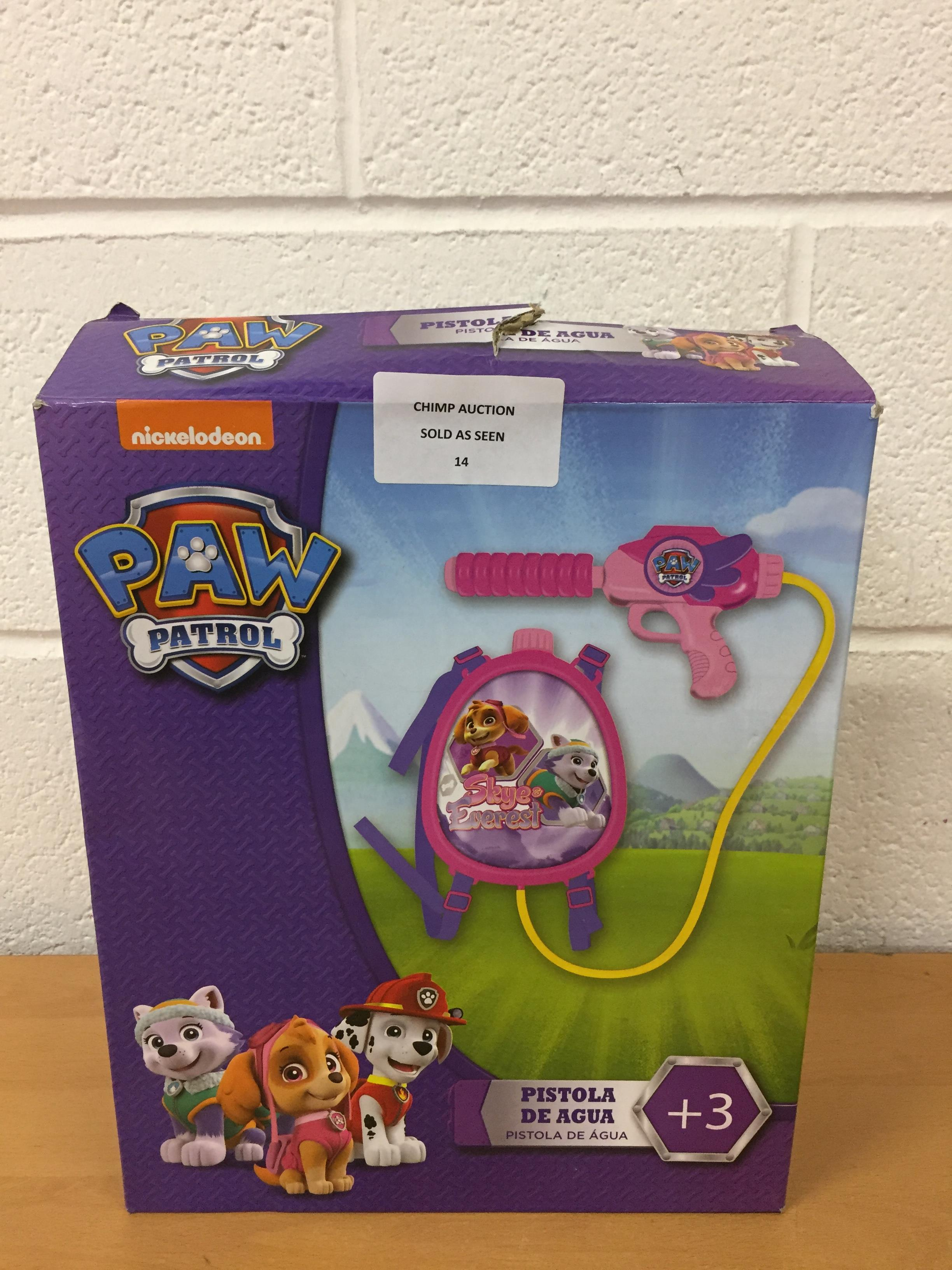 Lot 14 - Paw Patrol playset