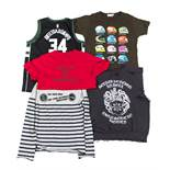 A large collection of T-shirts, sweatshirts and tops, to include; Comme de Garcons, Dsquared,