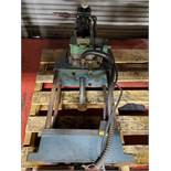 (2) PNEUMATIC PRESSES, AIR HYDRAULICS S/N 50AX-4722 & OTHER