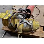 BUDGIT 1/4 TON ELECTRIC CHAIN HOIST, 1/4 HP