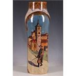 WITHDRAWN!!! Daniel Zuloaga, early 20th Century, Spanish, lustre vase, traditional decoration of