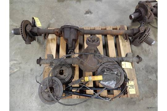 Chevrolet 308, 2-Wheel Drive Rear End and Chevrolet Dana 44