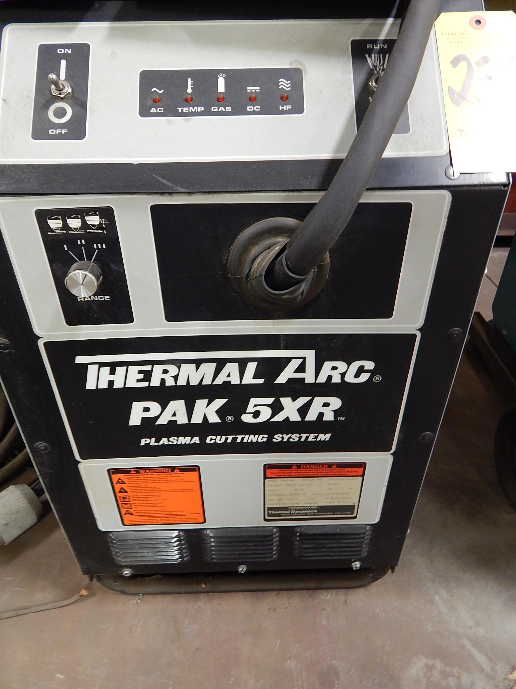 Thermal Dynamics Pak 5xr Manual