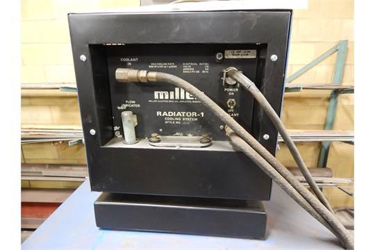 540x360 miller model 330a bp tig welder, s n jc010670, with miller chiller  at fashall.co